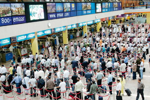 Dubai-Airport-Queues